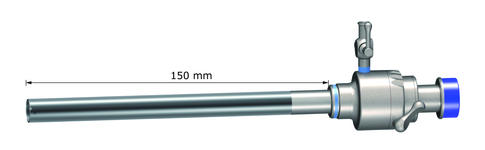 Bariatric trocar sleeve, stainless steel, with metal tube smooth, AUC11092A/150